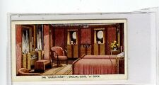 (Jc7315-100)  CHURCHMANS,THE QUEEN MARY,SPECIAL SUITE,A.DECK,1936,#33