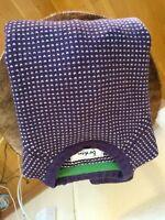 boden wool sweater purple pattern  small  US sezane