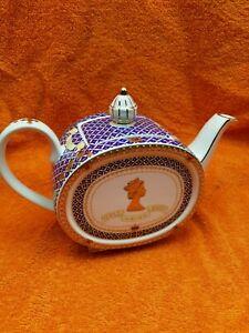 James Sadler Queen Elizabeth ii Golden Jubilee Teapot 1952 - 2002