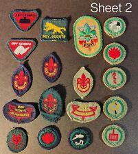 More details for vintage boy scout badges 1920/1940
