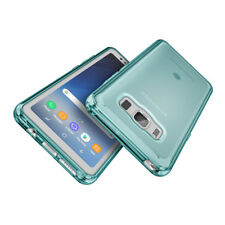 For Samsung Galaxy S8 Active G892A Case Blue Glossy Gel TPU Silicone Cover Skin