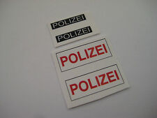 Corgi 492 VW Polizel German Police Stickers - B2G1F