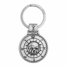 Double-Sided Skull Coin Key Chain By Controse