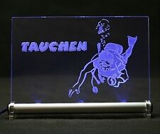 Buceo LED pantalla luminosa de buzos equipo de buceo höhlentauchen diver dive diving