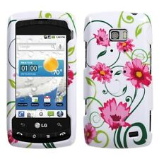 Lovely Flower Hard Case Snap on Cover for LG Ally VS740