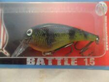 "Bay Rat Lures Battle Rattln Crank Bait C/B Perch  2 1/2"" New In Package B13"