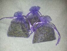 50 LAVENDER BAGS- AROMATIC DRIED LAVENDER - MOTH REPELLENT - LARGER 7X9 CM BAGS