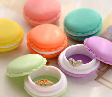 Set of 6 Mini Macaroon Storage Trinket Jewelry Earphone Pill Cute Box Gift Idea