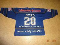 Ice Tigers Nürnberg Original Metzen Athletic Trikot 2000/01 + Nr.28 Nord Gr.XXL