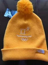 North Face Pyeongchang Olympic Knit Hat Yellow Free Size