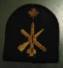 Canadian Armed Forces Navy WEAPONS TECH trade patch badge black