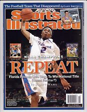 NO LABEL 2007 Sports Illustrated FL Gators REPEAT NCAA Champions Corey Brewer