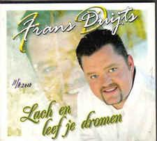 Frans Duijts-Lach En Leef Je Dromen cd maxi single incl videoclip