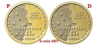 2-coin-set 2019 P-D American Innovation Delaware Dollar $1 US Mint New Series