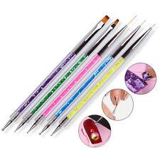 5pcs Nail Art Accessories Gel Design Pen Painting Polish Brush Drawing Tools Set