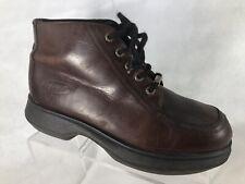 Kangol Men's Brown Leather Chukka Boots 9 M.             R3