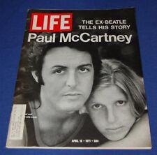 Life Magazine April 16 1971 Paul McCartney The Beatles Charles Manson Trial