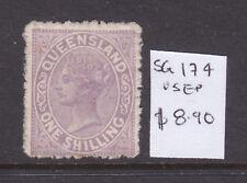 Qld: 1/ Pale Mauve Sg 174 F.Used