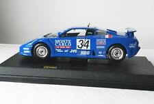BUGATTI EB110 SUPER SPORT DIE-CAST METAL MODEL CAR by BURAGO SCALE 1:24