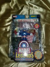 TOY BIZ MARVEL LEGENDS SERIES 1 CAPTAIN AMERICA ACTION FIGURE 2002