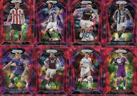 2020-21 Panini Prizm English Premier League Red Cracked Ice Refractor 20 Cards