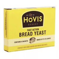 Hovis Fast Action Bread Yeast 6 x 7g Sachets  BB: May 2021  Similar to Allinsons