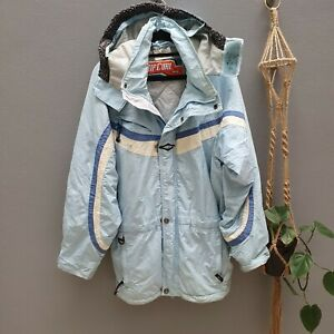 Vintage 80s 90s Rip Curl Ski Jacket Size M Womens HAS SOME MARKS AND A TEAR