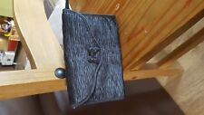 LADIES SMALL BLACK EVENING CLUTCH BAG