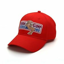 Nofonda Forrest Gump Cap Bubba Gump Shrimp Running Red Costume Baseball Hat
