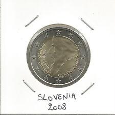 """SLOVENIA - 2 Euro comm. 2008 """"500° Nascita Primoz Trubar"""" FDC"""