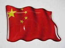 Magnet China Fahne Flagge,Souvenir Fridge,NEU,7,5 cm