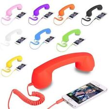 Coco Retro Phone Anti-Radiation 3.5mm Headset Handsfree Headphone For Iphone