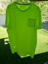 Arctic Cool Shirt Large Bright Yellow