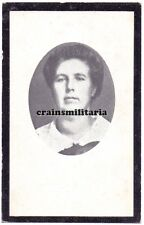 Doodsprentje Mussche emigrant Amerika ° Eeklo + Saint-Charles Moline USA 1929