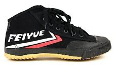 NEW! Feiyue Hi Top Martial Arts Parkour Shoes Kung Fu Wushu Tai Chi Black 39