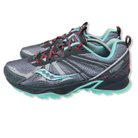 Saucony Excursion TR8 Running Athletic Shoes Women's Sz 8.5 Gray Blue