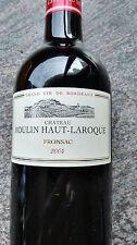 CHATEAU MOULIN HAUT LAROQUE FRONSAC 2004 (UNE SEULE BOUTEILLE) EXCELLENT