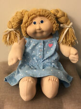 Vintage Cabbage Patch Kid 16� Cpk Doll Butterscotch Hair Blue Eyes 1984