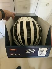 New ABUS Race Helmets Aventor - White M
