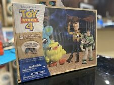 Toy Story Wood Puzzle (5 Puzzles) Wooden Storage Box New