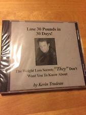 KEVIN TRUDEAU Lose 30 Pounds in Days NEW PLUS BONUS Natural Cures 12 CD SET!!