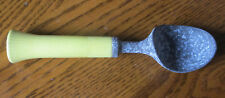Bonny Products Ice Cream Scoop Yellow Handle Vintage Made In New York Usa