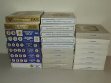 COMPLETE SET of GOEBEL M.J. HUMMEL ANNUAL COLLECTOR PLATES 1971-1995 (25 Plates)