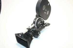 Vintage Arriflex Cine Camera Model 16S with Lens, Magazine, Motor, Good shape