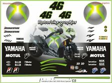 Yamaha X-Box 360 2009 Rossi Special decal set