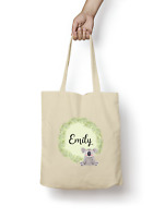 Koala Tote Bag PERSONALISED Quality Natural Cotton Shopper Animal Cute Gift