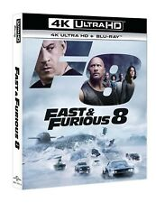Fast And Furious 8 (Blu-Ray 4K Ultra HD + Blu-Ray) UNIVERSAL PICTURES