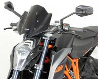 MRA Double-Bubble NRM RacingScreen Windshield For KTM 1290 Super Duke R - Black