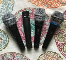 Dynamic Microphone Collection. Shure Sm57. Rs130. Pg58. Pg57. 3 Xlr Cables.