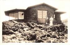RPPC Haleakala Observation Point, Maui, Hawaii 1945 Vintage Postcard